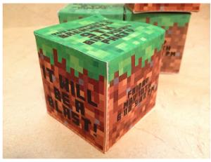 Minecraft convite box