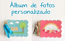 scrap álbum de fotos